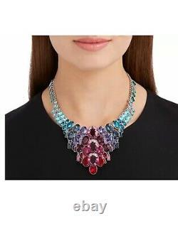 Swarovski Eminence Large Statement Necklace Multi-Colored Jewelry