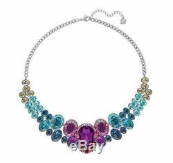 Swarovski Eminence Medium Necklace New Multi-Color 38 CM or 15 inches