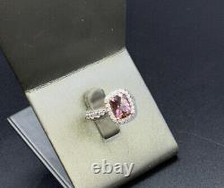 Tacori pink ropaz ring size 7